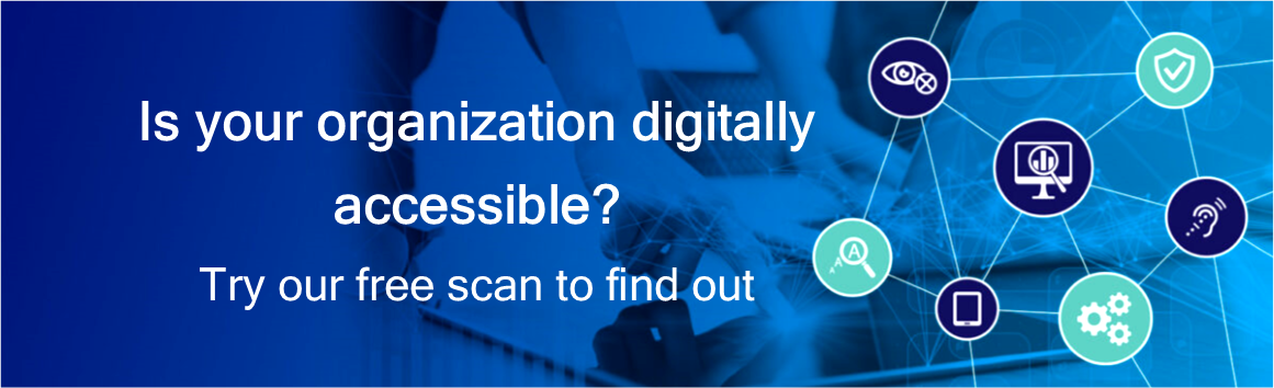 iAccessible free scan landing page image2